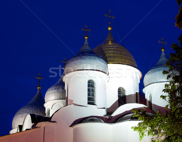 Orthodox dome cupols Stock photo © Steffus