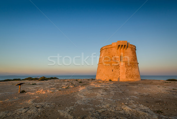 Formentera ancient tower Stock photo © Steffus