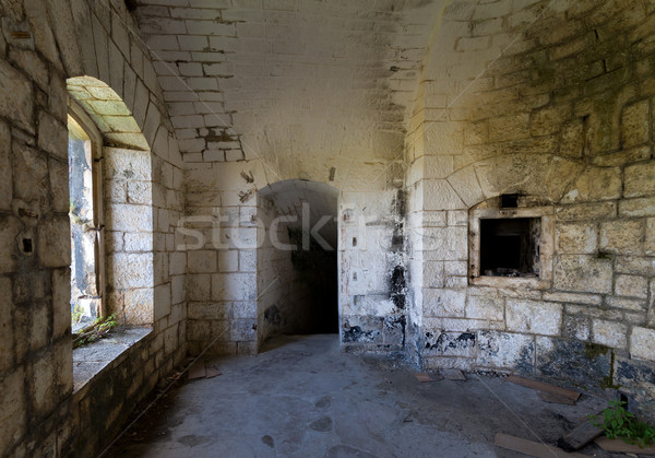 Thurmfort Gorazda fortress inner room Stock photo © Steffus