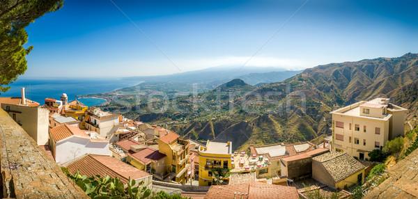Taormina panorama Stock photo © Steffus