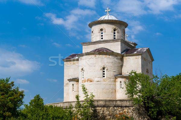 Klasztor obniżyć kościoła starych katedry kompleks Zdjęcia stock © Steffus