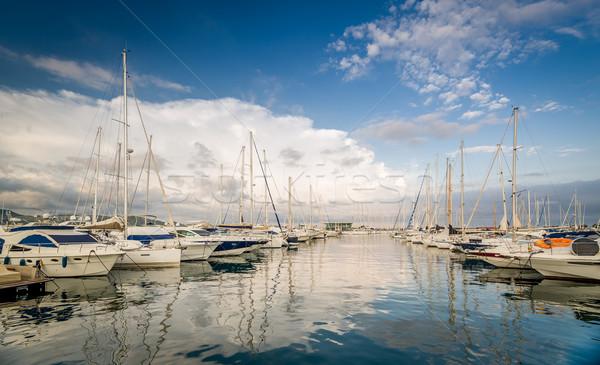 Yacht marina San-Antonio Stock photo © Steffus