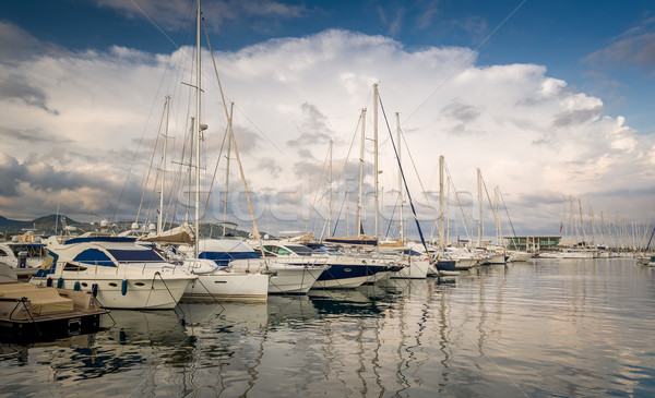 Yacht marina San-Antonio Stock photo © Steffus