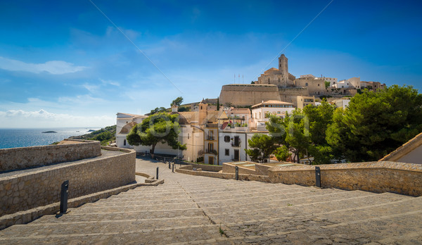 Ibiza old town Stock photo © Steffus