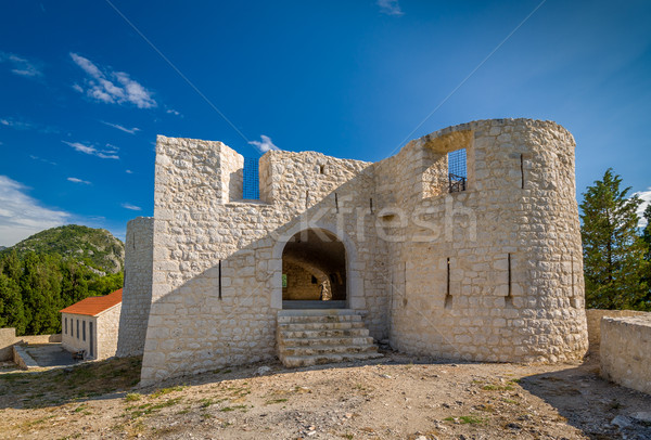 Besac medieval castle Stock photo © Steffus