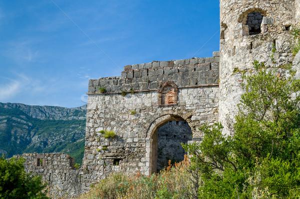 Anciens forteresse principale porte abandonné vieux Photo stock © Steffus