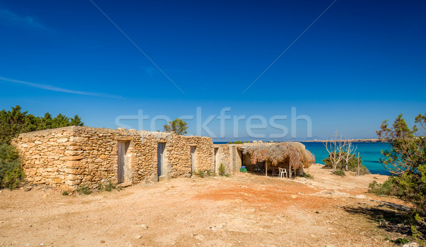 Old stone house Stock photo © Steffus