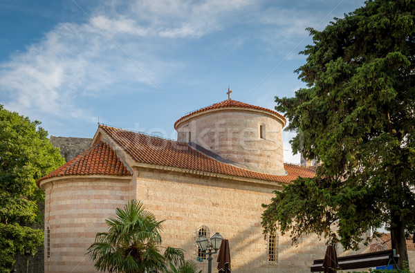 Medieval church in Budva Stock photo © Steffus
