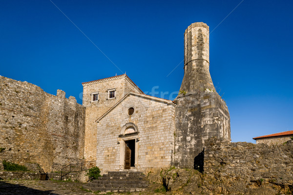 Archaeological museum of Ulcinj old town, Montenegro Stock photo © Steffus