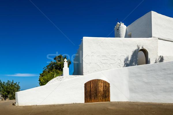 サンタクロース 教会 島 スペイン 夏 アーキテクチャ ストックフォト © Steffus