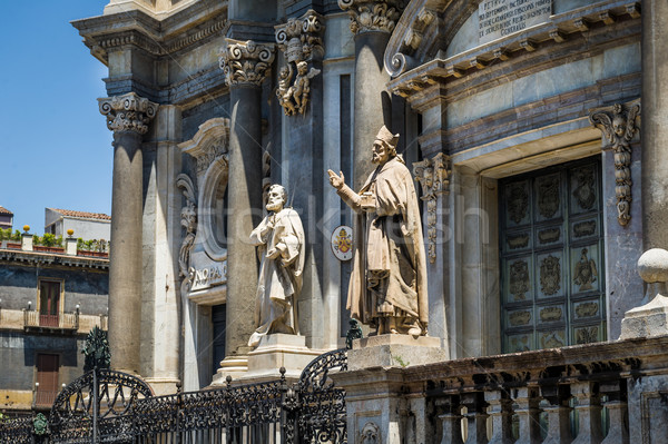 St. Peter cathedral statues Stock photo © Steffus