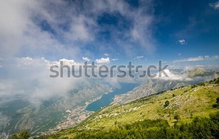 мнение парка точки облака Черногория Сток-фото © Steffus