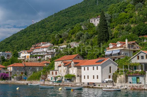 Stockfoto: Oude · binnenstad · water · oude · stad · boten