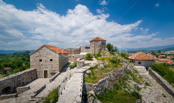 中世 モンテネグロ 捨てられた 歴史的 遺跡 ストックフォト © Steffus