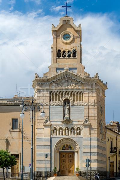 Церкви небольшой красивой деревне Италия здании Сток-фото © Steffus