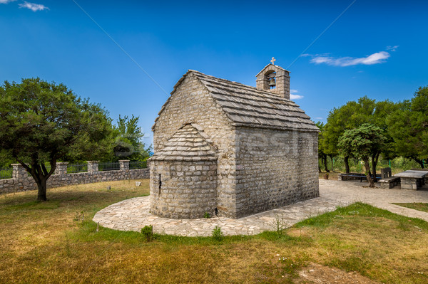 Stock photo: Small old chapel