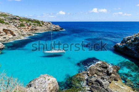 Rüya gibi deniz manzarası rüya turkuaz şeffaf su Stok fotoğraf © Steffus