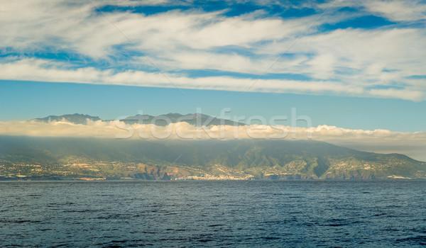 La wyspa widoku wody Hiszpania Zdjęcia stock © Steffus