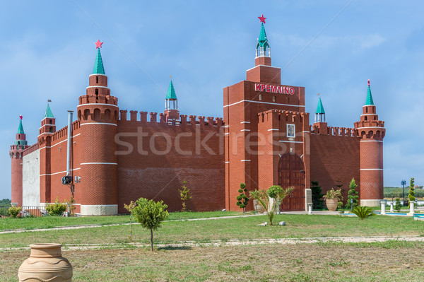 Copy of Moscow Kremlin in Greece Stock photo © Steffus