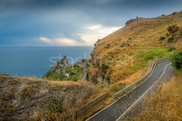 Sicilian coastal roads Stock photo © Steffus