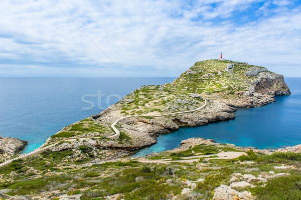 Lighthouse on Cabrera island landscpae Stock photo © Steffus