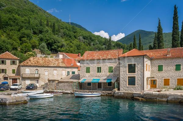 Old Montenegrian fisherman's village Stock photo © Steffus