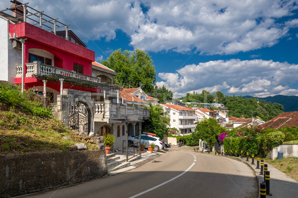 Herzeg Noni serpentine streets Stock photo © Steffus
