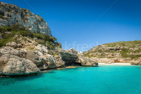 Stock photo: Ibiza wild bay
