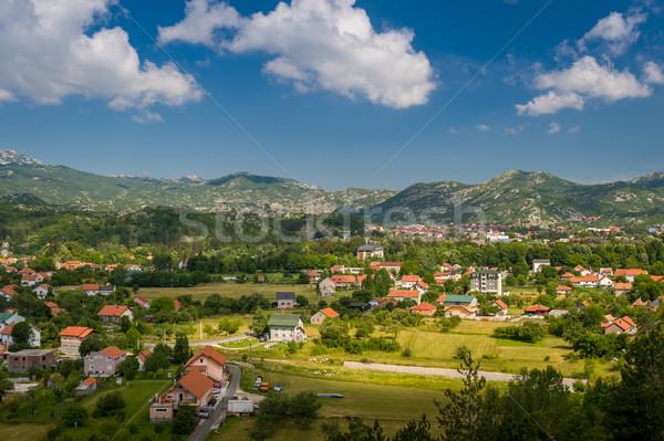 Черногория деревне пейзаж мнение лет Сток-фото © Steffus