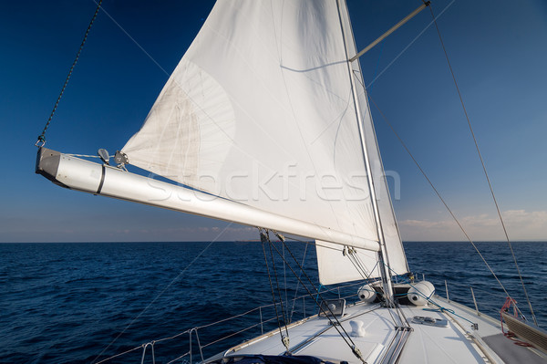 Sailing to the horizon Stock photo © Steffus