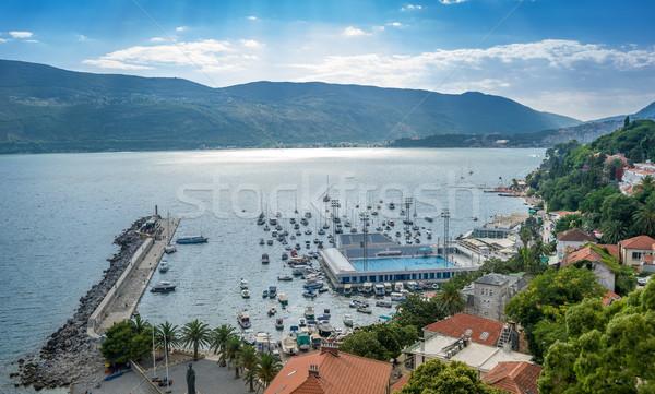 Сток-фото: порт · пирс · морем · бассейна · воды · пейзаж