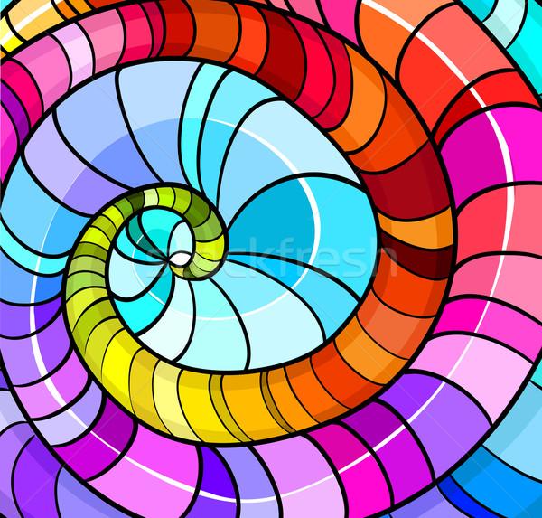 Szín minták minta gyönyörű terv háttér Stock fotó © Stellis