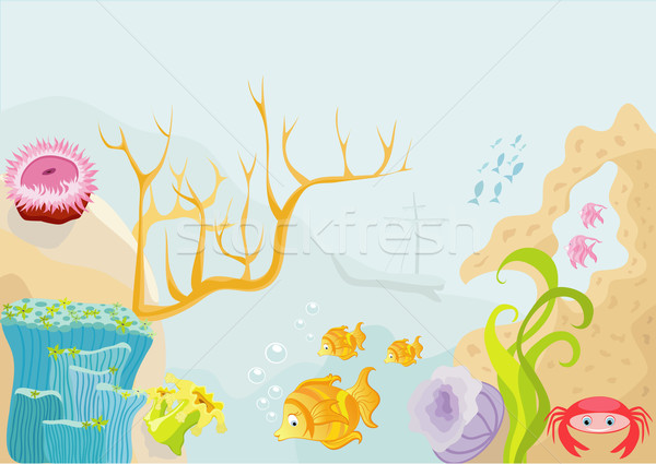 Sea life Stock photo © Stellis