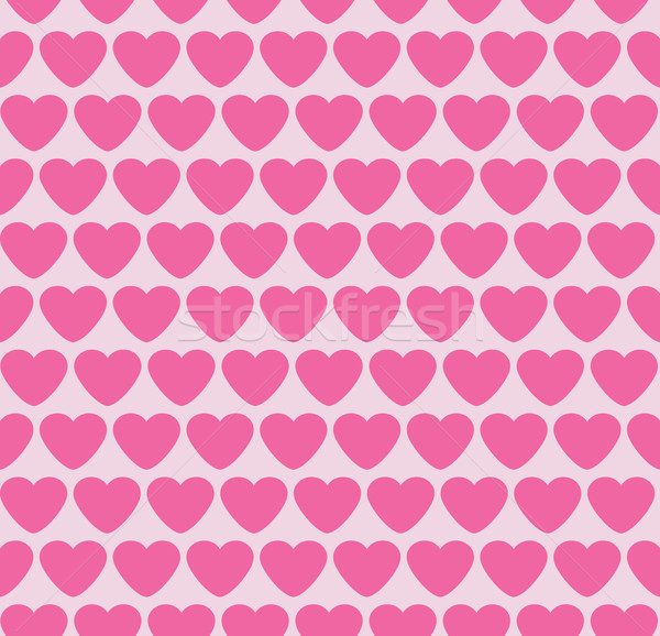 Seamless background with hearts. Valentine.  Stock photo © Stellis
