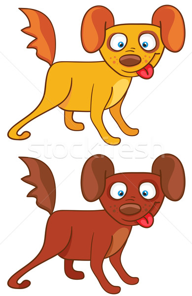 Cartoon Dogs  Stock photo © Stellis