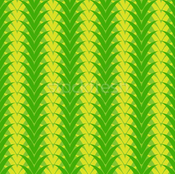 Senza soluzione di continuità vegetali verde pattern fiore Foto d'archivio © Stellis
