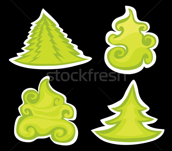 Christmas pines. Stock photo © Stellis