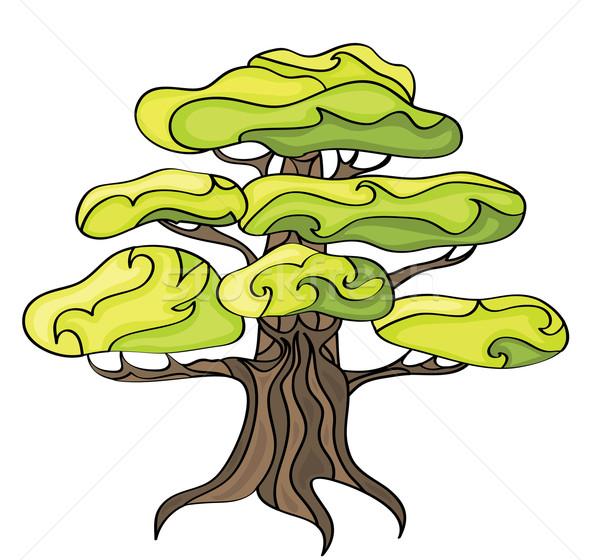 Stylized tree. Stock photo © Stellis