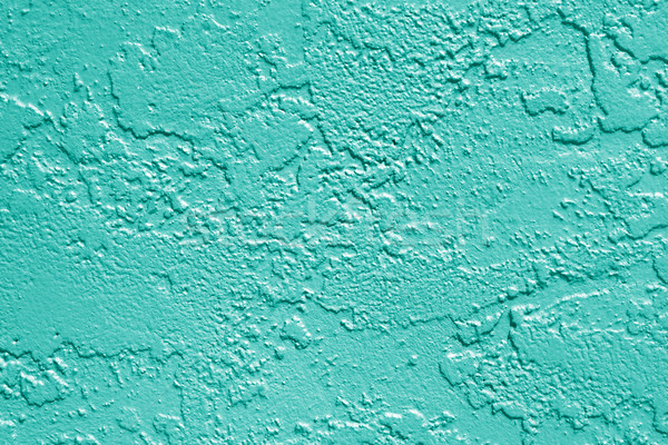 Teal Green Wall Texture Background Stock photo © Stephanie_Zieber