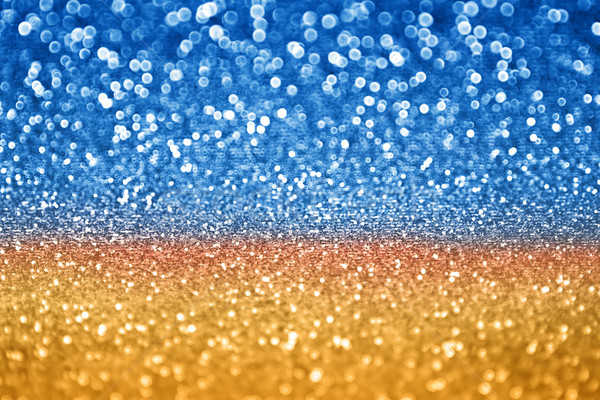 Blue Gold Glitter Stock photo © Stephanie_Zieber