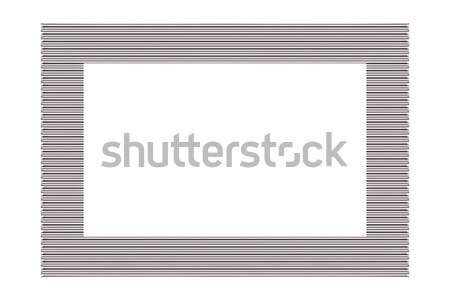 Silver Picture Frame Stock photo © Stephanie_Zieber
