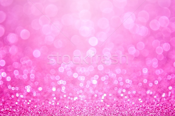 Pink Baby Girl Birthday Background Stock photo © Stephanie_Zieber
