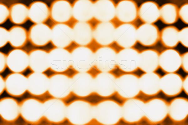 Halloween bokeh lichten abstract oranje zwarte Stockfoto © Stephanie_Zieber