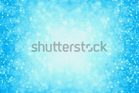 青 紙吹雪 パーティ パステル グリッター ストックフォト © Stephanie_Zieber