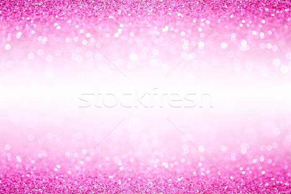 Pink White Glitter Sparkle Background Stock photo © Stephanie_Zieber