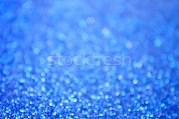 Abstract Blauw bubbels bokeh bubble water Stockfoto © Stephanie_Zieber