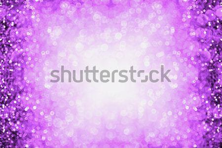Lavanda púrpura brillo frontera resumen Foto stock © Stephanie_Zieber