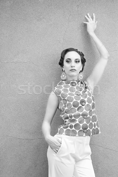 Vintage Woman Stock photo © Stephanie_Zieber