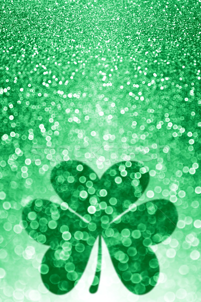 St Patrick's Day Shamrock Background Stock photo © Stephanie_Zieber