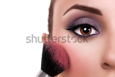 Woman Make Up Blush Stock photo © Stephanie_Zieber
